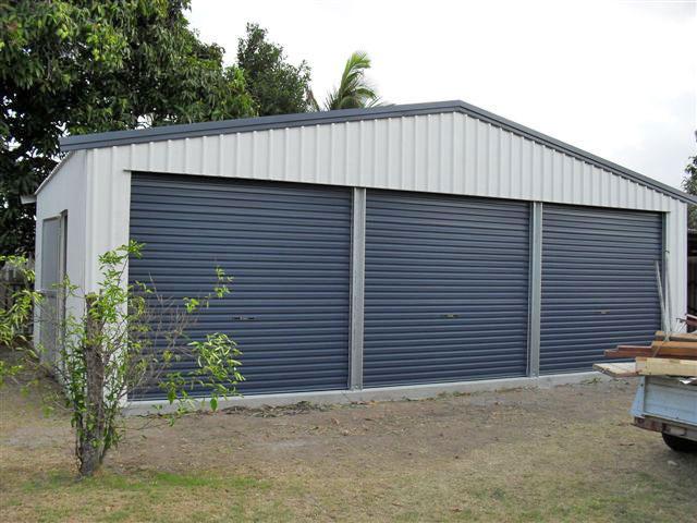 Garage gallery shed master sheds adelaide for 3 car garage shed