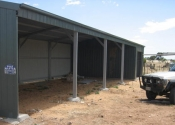 The beginning of a new stable Callington. Tailem Bend, Murray Bridge