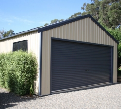 Large Roller door shed