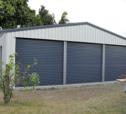 Three Bay Shed
