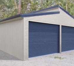 Double Garage Skillion roof