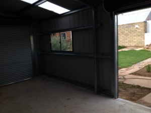 ShedMaster Sheds, South Australia, Melrose Park, single car garage, Adelaide, Goodwood, Shed