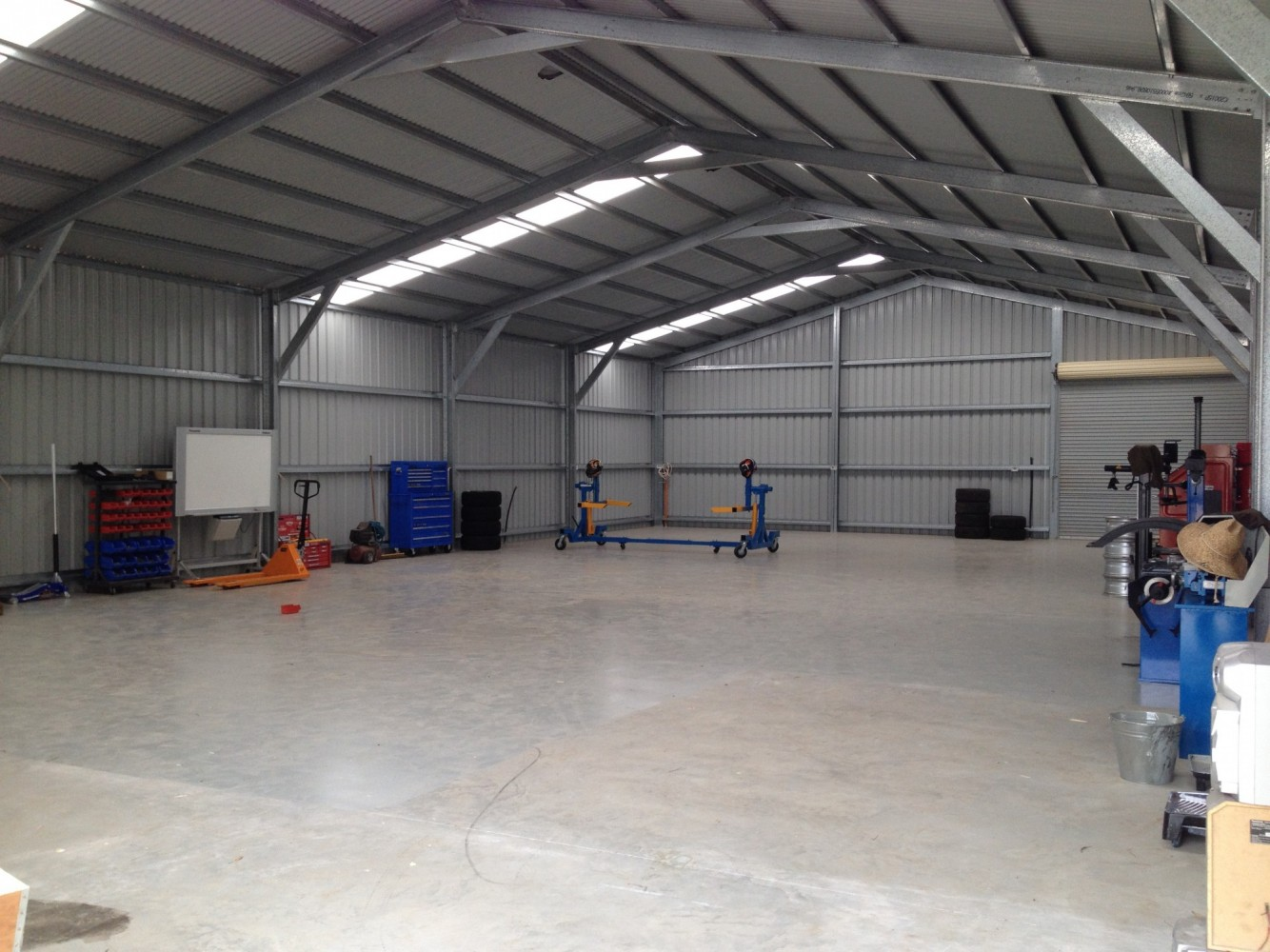 Peter's New Mechanical Workshop
