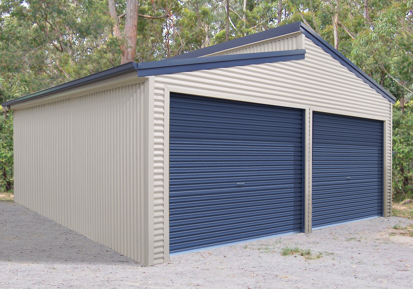 Garages shed master sheds adelaide for Shed roofs